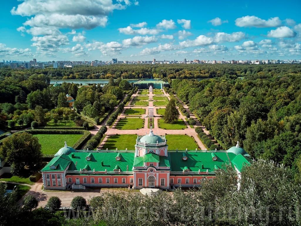 Старинная русская усадьба