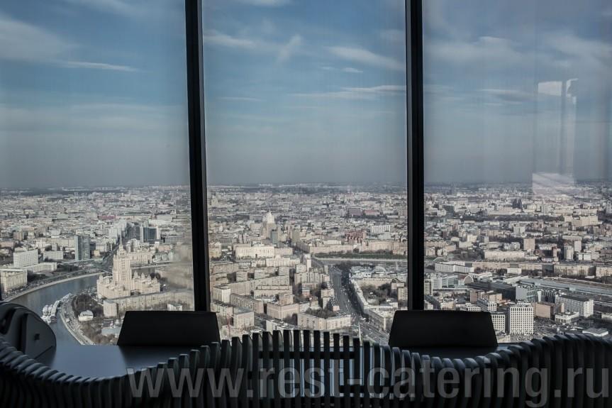 Самая высокая EVENT площадка в Москве на 90 этаже «Москва-сити»