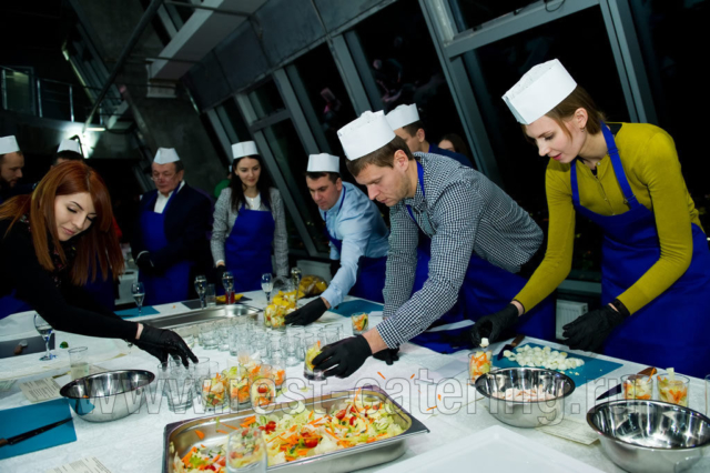 Мастер-класс в Москва сити, башня Империя 58 этаж